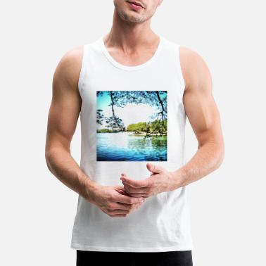 Shop Lake Tank Tops online | Spreadshirt