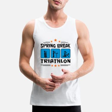 Spring Break spring break triathlon - Men's Premium Tank Top