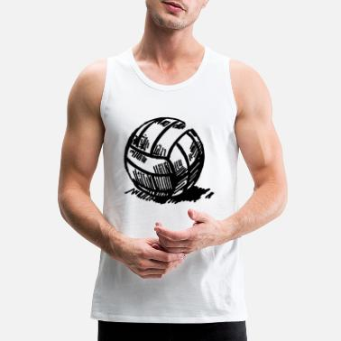 Volley volley - Men's Premium Tank Top