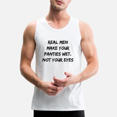 Dirty Sayings Sex Saying, dirty talk, men, sexy - Men's Premium Tank Top