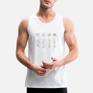 Helix DNA helix - Men's Premium Tank