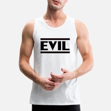 Teufelsweib Evil Boese mean devilishly bad black - Men's Premium Tank Top