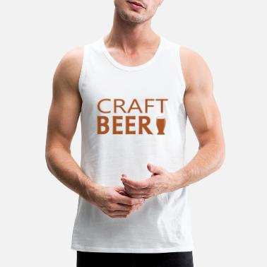 Craft Beer Beer craft - Men's Premium Tank Top