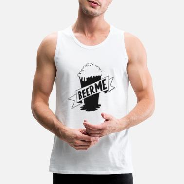 Pint Pint Of Beer - Men's Premium Tank Top