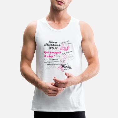Paris Paris glamour - Men's Premium Tank Top