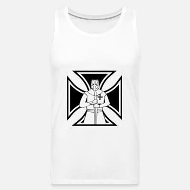 iron cross templar Men's Premium T-Shirt | Spreadshirt