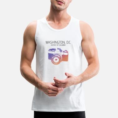 Washington D.c. Camera Washington D.C. - Men's Premium Tank