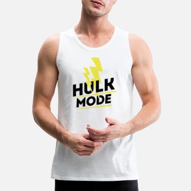 Gym Wear Hulk Mode, Gym wear - Men's Premium Tank