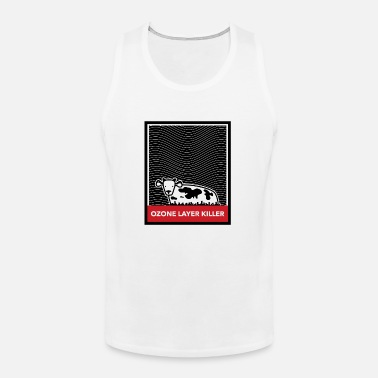 Humans Breather Our Farts Funny Trees Enviroment Mens Tank Top Sleeveless Shirt