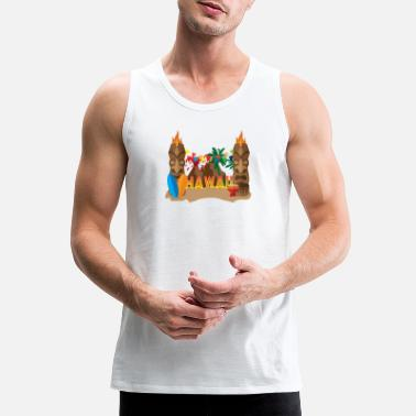 Hawaii Hawaii - Men's Premium Tank