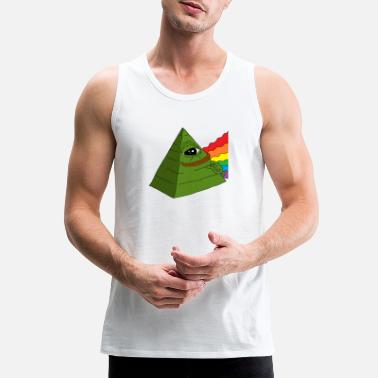 frog pyramid - Men's Premium Tank Top