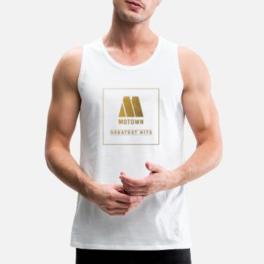Motown merch record - Men's Premium Tank Top