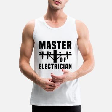 Apprentice Master of Electrician - Men's Premium Tank Top