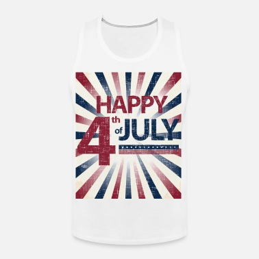 52501138 Happy 4th of July Vintage Men's T-Shirt | Spreadshirt