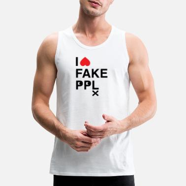 Faking Fake - Men's Premium Tank Top