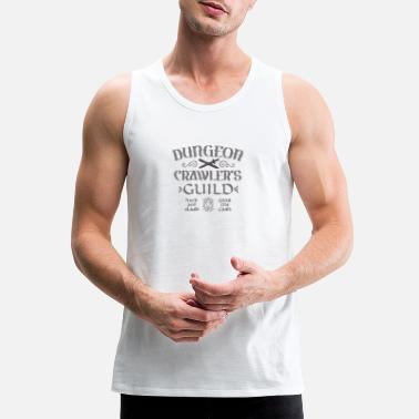 Dungeon Crawler s Guild - Men's Premium Tank Top