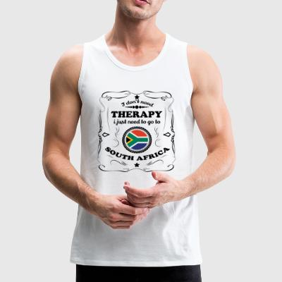 DON T NEED THERAPIE GO SOUTH AFRICA - Men's Premium Tank