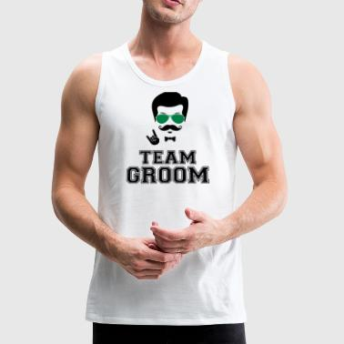 Team groom bachelor party - Men's Premium Tank
