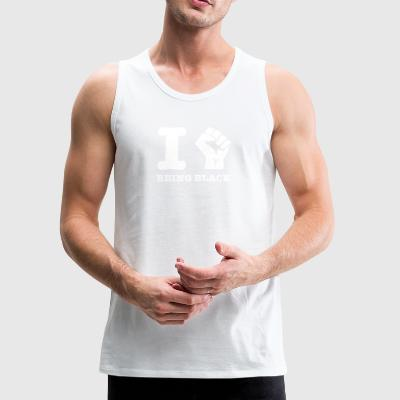 I love being Black - Men's Premium Tank