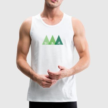 Mountain Bike mtb bicycle - Men's Premium Tank