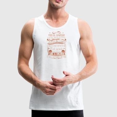 Postal Worker Tee Shirts - Men's Premium Tank
