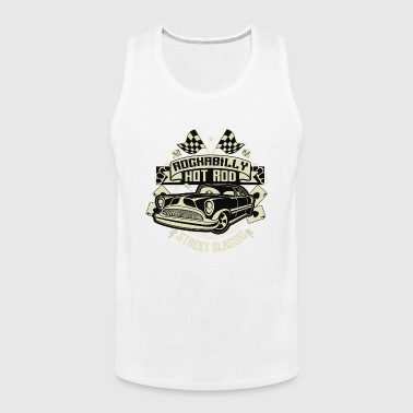 Roghabilly Hot Rod - Street Classic Vintage Car T shirt - Men's Premium Tank
