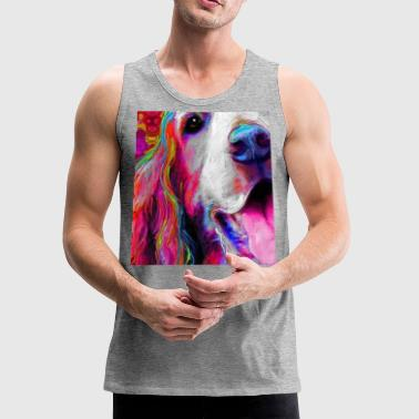 Trippy Dog - Men's Premium Tank