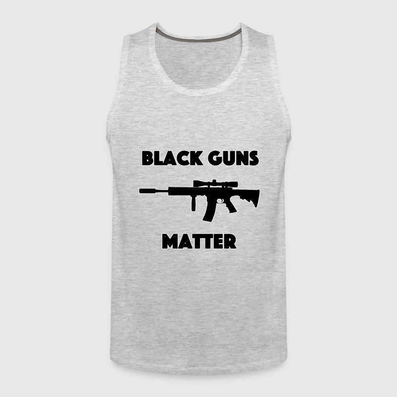 Black guns matter 1 - Men's Premium Tank