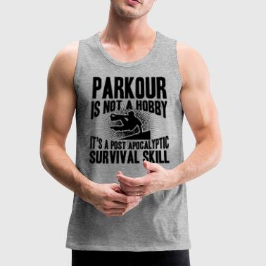 Parkour Survival Skill Shirt - Men's Premium Tank