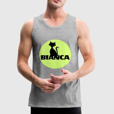 Bianca name first name - Men's Premium Tank