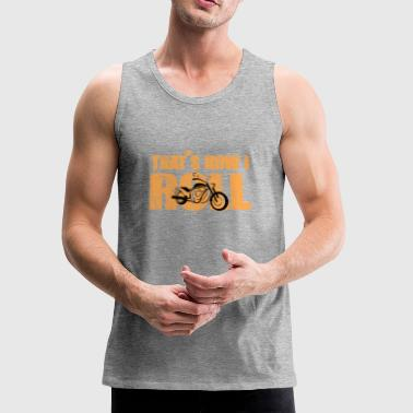 motorcycle - Men's Premium Tank