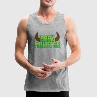 Halloween Baby Monster - Men's Premium Tank
