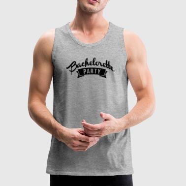 Bachelorette Party Game Over - Stag-Groom-Wedding - Men's Premium Tank