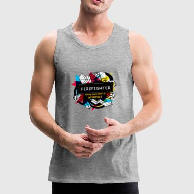 FIREFIGHTER - Men's Premium Tank