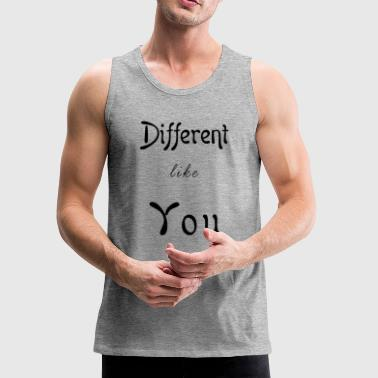 Different Like You - Men's Premium Tank