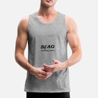 Farewell stag farewell party - Men's Premium Tank