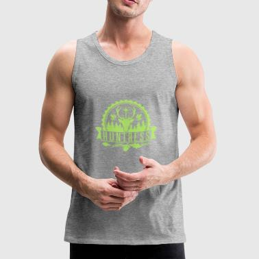 Hunter Huntress Woods Hunting Shooting Wild Chase - Men's Premium Tank