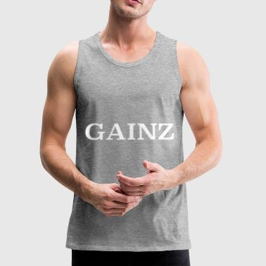 GAINZ - Men's Premium Tank
