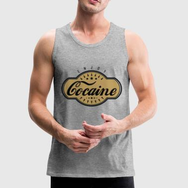 Cocaine - Men's Premium Tank