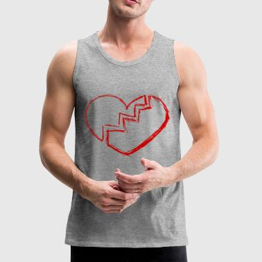 Heart broken - Men's Premium Tank