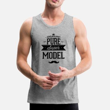 Vip 100 percent pure super model - Men's Premium Tank