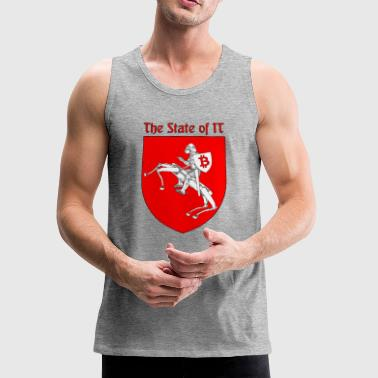 State The State of IT - Men's Premium Tank