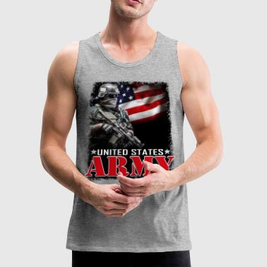 Us Army US ARMY - Men's Premium Tank