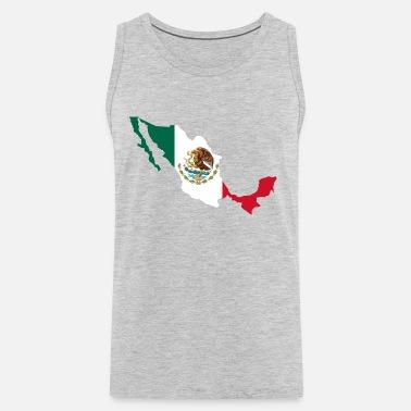 7e9e716c46872 National territory with flag Mexico Men s Premium T-Shirt