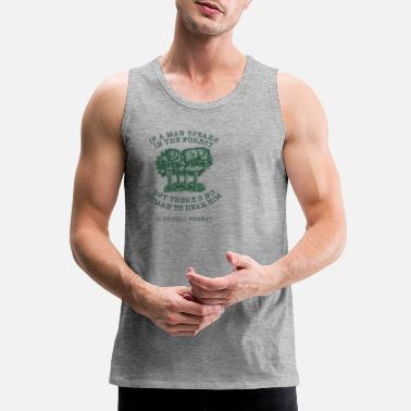 Forest In The Forest - Men's Premium Tank