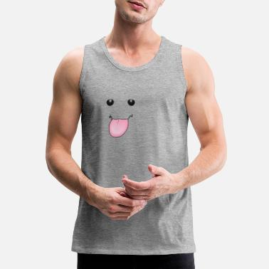 Tongue Tongue - Men's Premium Tank Top