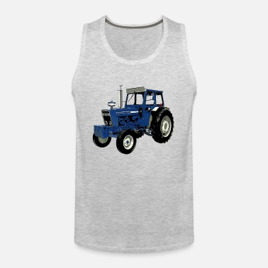 2bba2251 Old Ford Tractor Blue Men's Premium T-Shirt | Spreadshirt