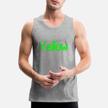 Yellow yellow - Men's Premium Tank