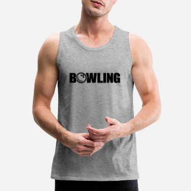 Bowling Ball bowling ball - Men's Premium Tank Top