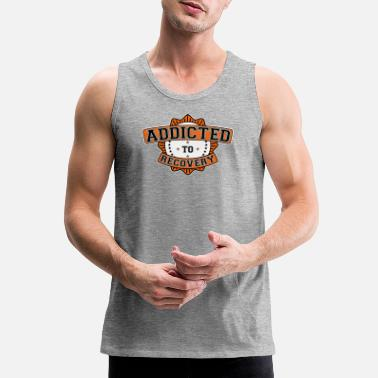 Anonymous Addicted to Recovery - Men's Premium Tank Top